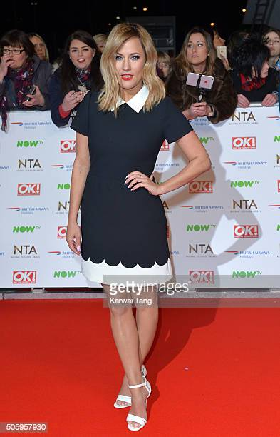 Caroline Flack attends the 21st National Television Awards at The O2 Arena on January 20 2016 in London England