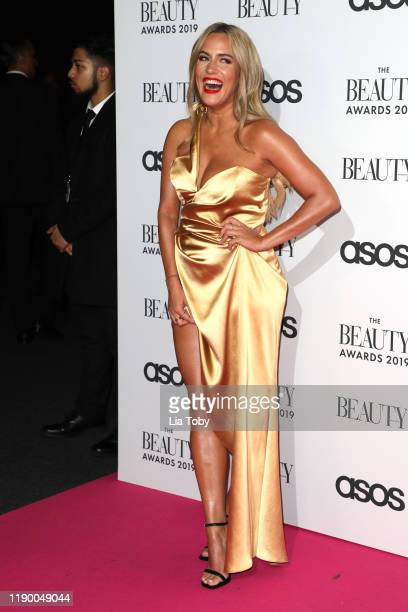 Caroline Flack attends The Beauty Awards 2019 on November 25 2019 in London England