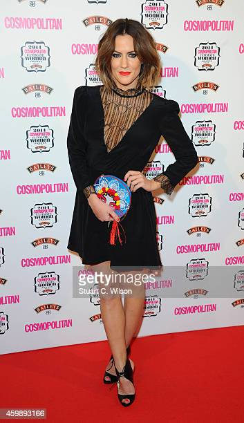 Caroline Flack attends the Cosmopolitan Ultimate Women of the Year Awards at One Mayfair on December 3 2014 in London England