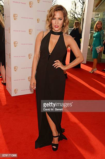 Caroline Flack attends the House Of Fraser British Academy Television Awards 2016 at the Royal Festival Hall on May 8, 2016 in London, England.