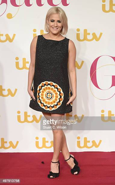 Caroline Flack attends the ITV Gala at London Palladium on November 19 2015 in London England
