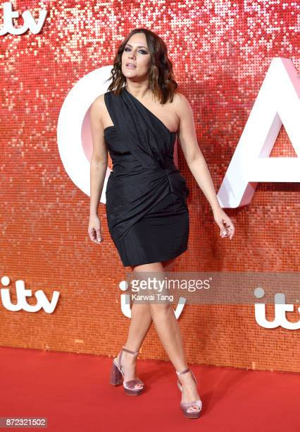 Caroline Flack attends the ITV Gala at the London Palladium on November 9 2017 in London England