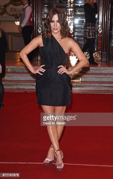 Caroline Flack attends the ITV Gala held at the London Palladium on November 9 2017 in London England