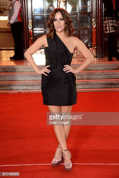 Caroline Flack attends the ITV Gala held at the London Palladium on November 9 2017 in London England