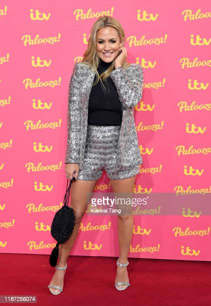 Caroline Flack attends the ITV Palooza 2019 at The Royal Festival Hall on November 12 2019 in London England