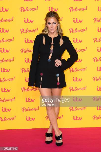 Caroline Flack attends the ITV Palooza held at The Royal Festival Hall on October 16 2018 in London England