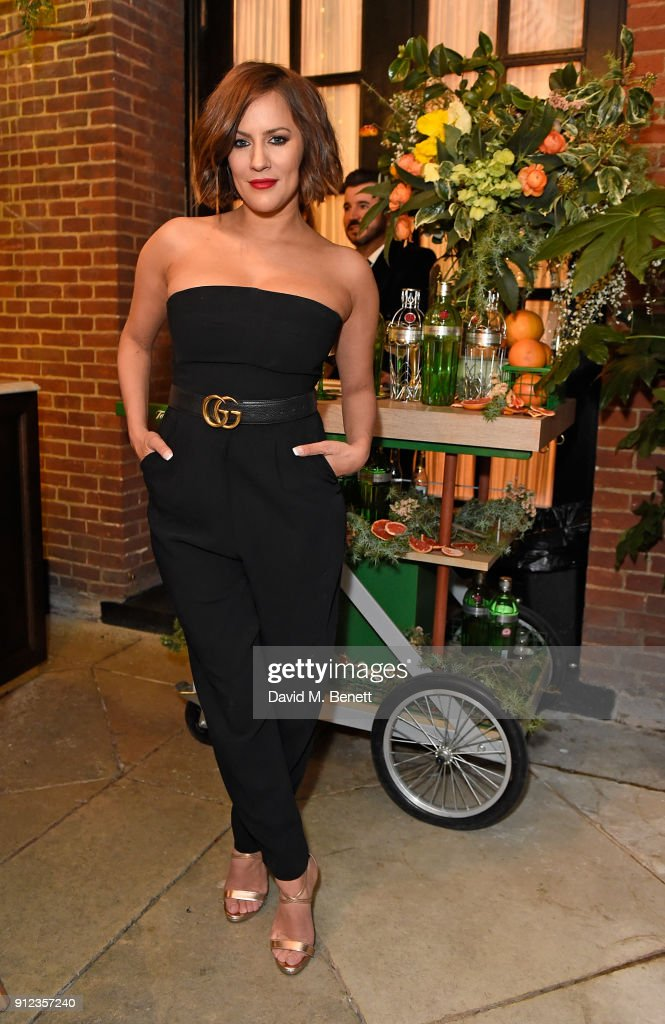 Gizzi Erskine Hosts Launch Of The Tanqueray No. Ten Table At Dalloway Terrace