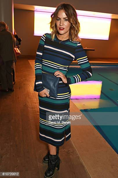 Caroline Flack attends the press night after party for The Libertine at the Haymarket Hotel on September 27 2016 in London England