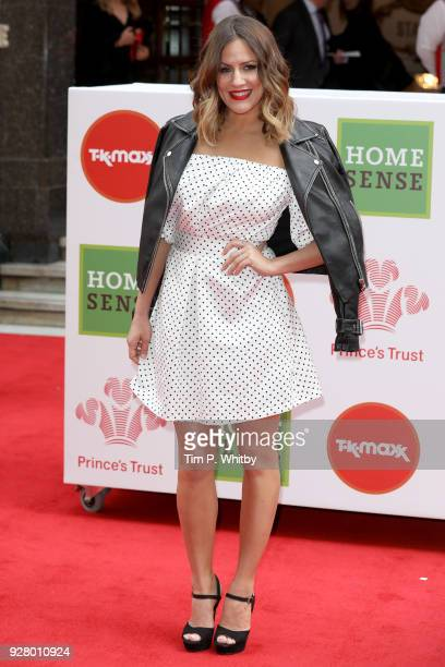 Caroline Flack attends 'The Prince's Trust' and TKMaxx with Homesense Awards at London Palladium on March 6 2018 in London England
