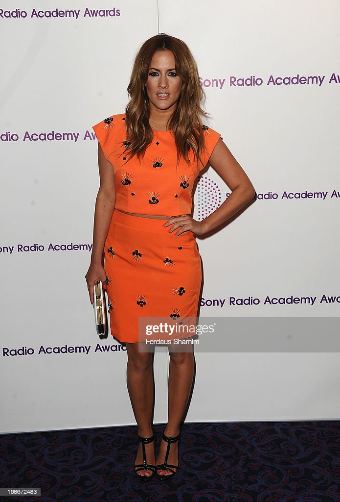Caroline Flack attends the Sony Radio Academy Awards at The Grosvenor House Hotel on May 13, 2013 in London, England.