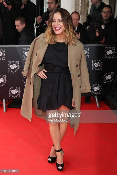 Caroline Flack attends the TRIC Awards 2018 held at The Grosvenor House Hotel on March 13 2018 in London England