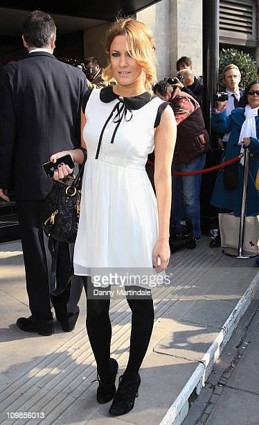 Caroline Flack attends The TRIC Awards at The Grosvenor House Hotel on March 8 2011 in London England