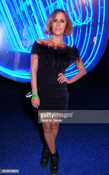 Caroline Flack attends The Warner Music Ciroc Brit Awards After Party on February 22 2017 in London England
