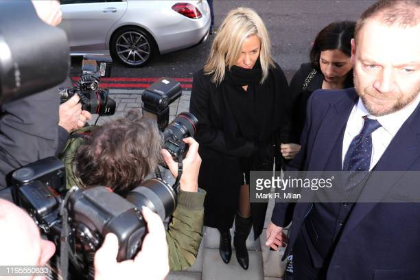 Caroline Flack seen at Highbury Corner Magistrates Court on December 23 2019 in London England Love Island host is due in court after being charged...