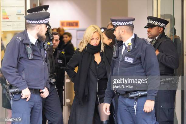 Caroline Flack seen at Highbury Corner Magistrates Court on December 23 2019 in London England The Love Island host was in court after being charged...