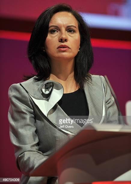 Caroline Flint Speak at the 2008 Labour party conference Manchester Sept 2008