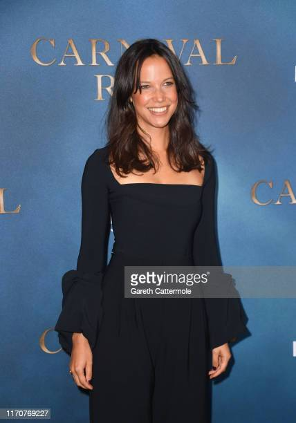 Caroline Ford attends the Amazon Original series Carnival Row London Screening at The Ham Yard Hotel on August 28 2019 in London England