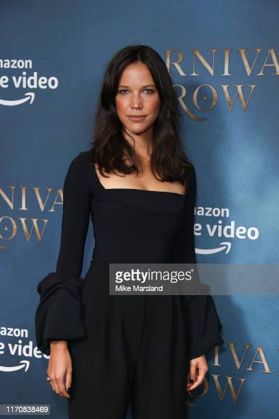 Caroline Ford attends the Carnival Row London Premiere at The Ham Yard Hotel on August 28 2019 in London England