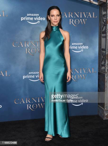 Caroline Ford attends the LA Premiere of Amazon's Carnival Row at TCL Chinese Theatre on August 21 2019 in Hollywood California
