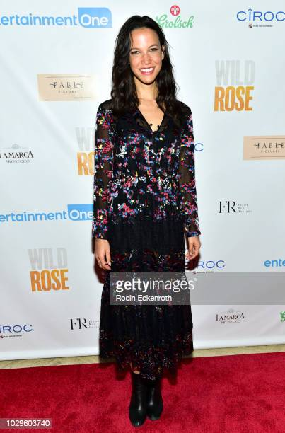 Caroline Ford attends the premiere party for Entertainment One's Wild Rose on September 8 2018 in Toronto Canada