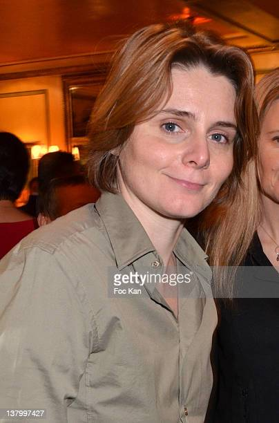 Caroline Fourest attends the Procope Des Lumieres' Literary Awards First Edition at the Procope on January 30 2012 in Paris France