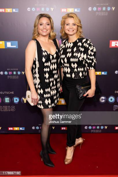 Caroline Frier and Annette Frier attend the 23rd annual German Comedy Awards at Studio in Köln Mühlheim on October 02 2019 in Cologne Germany