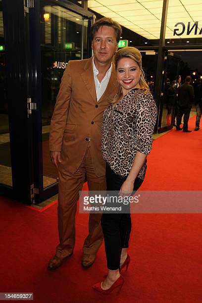 Caroline Frier and Martin Armknecht attend the '16 Annual German Comedy Award' on October 23 2012 in Cologne Germany