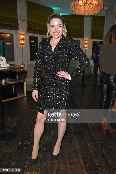 Caroline Frier at the Bavaria Fiction Cocktail during the 70th Berlinale International Film Festival Berlin at Soho House on February 24 2020 in...