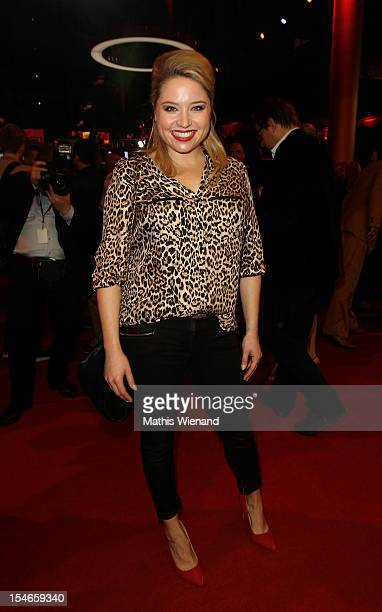 Caroline Frier attends the '16 Annual German Comedy Award' on October 23 2012 in Cologne Germany