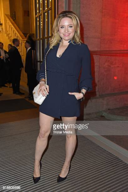 Caroline Frier during the Berlin Opening Night by GALA and UFA Fiction at Das Stue on February 15 2018 in Berlin Germany