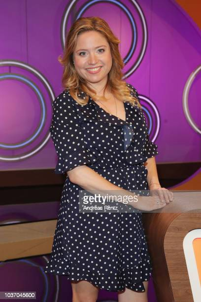 Caroline Frier poses during the 'DINGSDA' photo call at MMC Studios on June 26 2018 in Cologne Germany