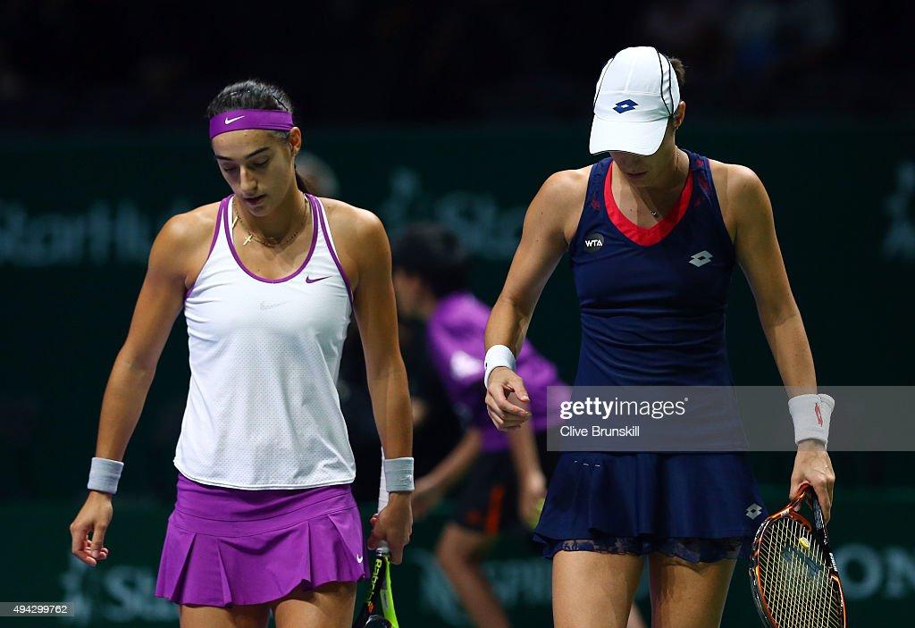 BNP Paribas WTA Finals: Singapore 2015 - Day Two