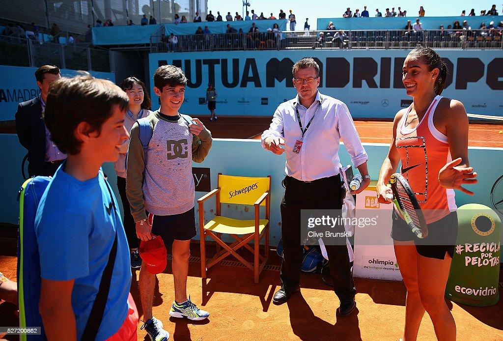 Mutua Madrid Open - Day Three : News Photo