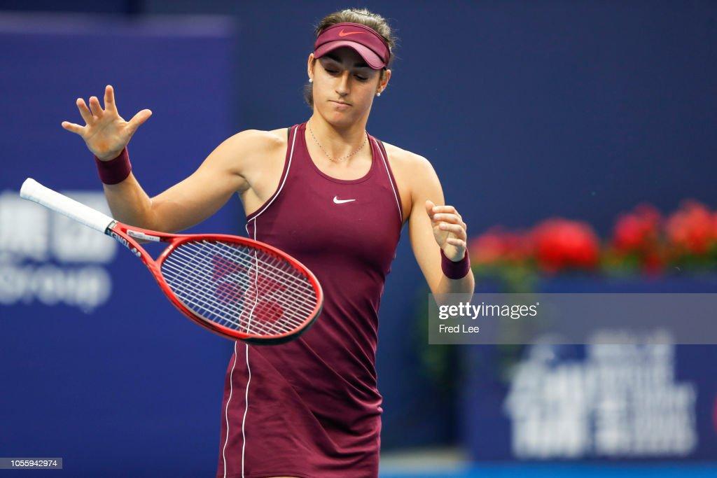 2018 WTA Elite Trophy Zhuhai - Day 3 : News Photo