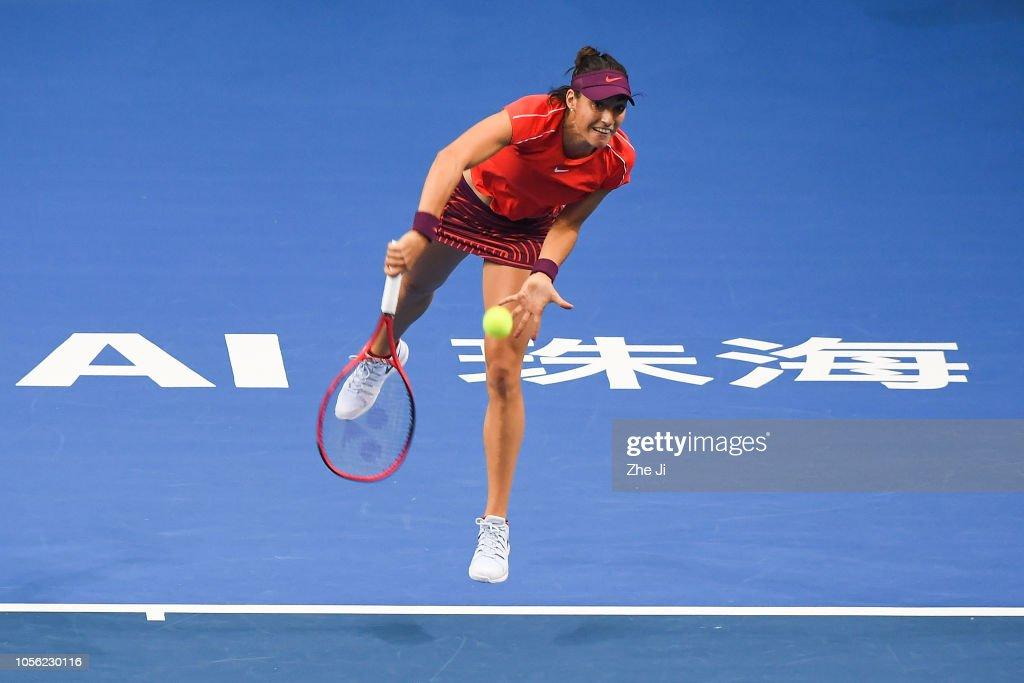 2018 WTA Elite Trophy Zhuhai - Day 4 : Photo d'actualité