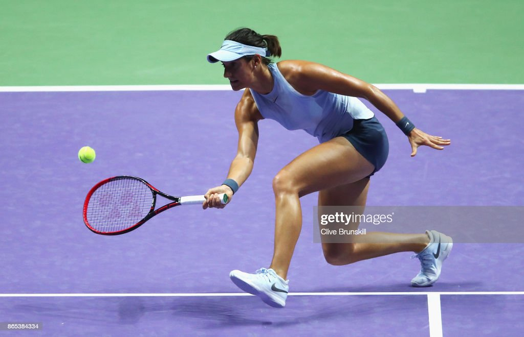 BNP Paribas WTA Finals Singapore presented by SC Global - Day 2 : Photo d'actualité