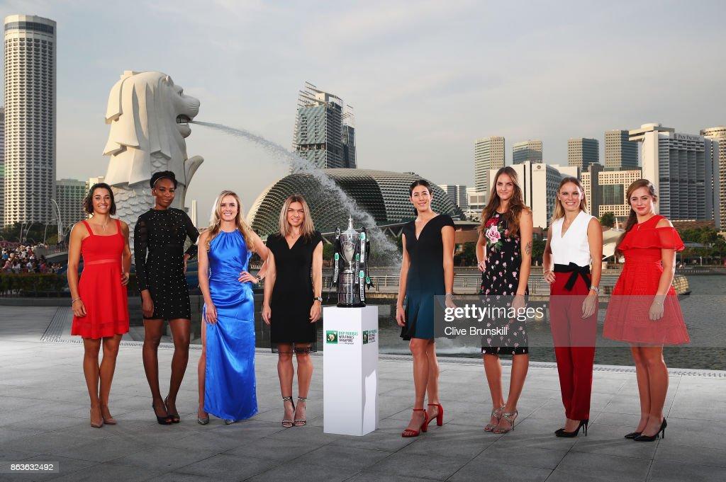 BNP Paribas WTA Finals Singapore presented by SC Global - Previews : Photo d'actualité
