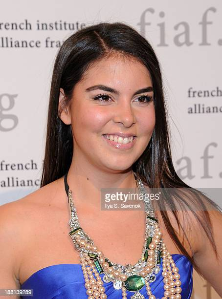 Caroline Ghosn attends the 2013 Trophee des Arts gala at 583 Park Avenue on November 15 2013 in New York City