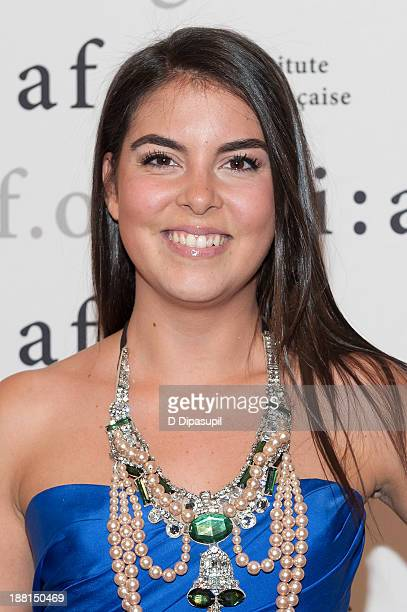 Caroline Ghosn attends the 2013 Trophee Des Arts gala on November 15 2013 in New York City