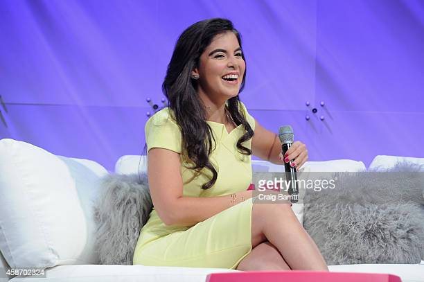 Caroline Ghosn CoFounder CEO of Levo speaks onstage during Cosmopolitan Magazine's Fun Fearless Life Conference powered by WME Live at The David Koch...