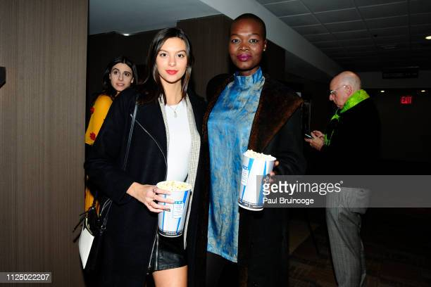 Caroline Gill and Aluad Anei attend Samuel Goldwyn Films With The Cinema Society Host A Special Screening Of Mapplethorpe at Cinepolis Chelsea on...