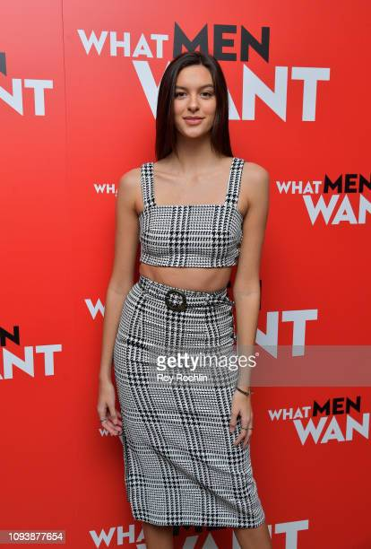 Caroline Gill attends the New York special screening of Paramount Pictures' film 'What Men Want' at Crosby Street Hotel on February 4 2019 in New...