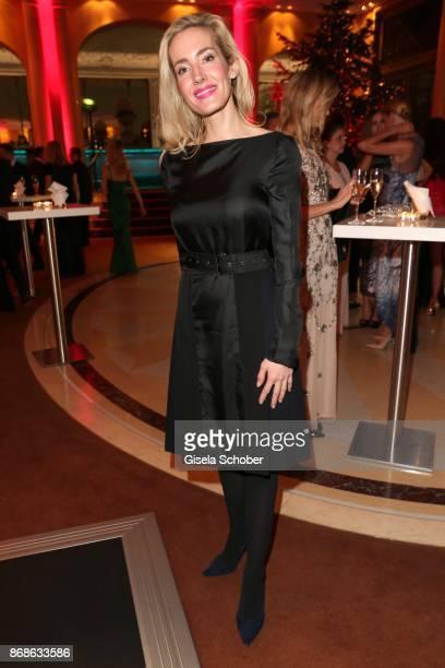 Caroline Goddet wife of Erol Sander the Audi Generation Award 2015 at Hotel Bayerischer Hof on December 2 2015 in Munich Germany