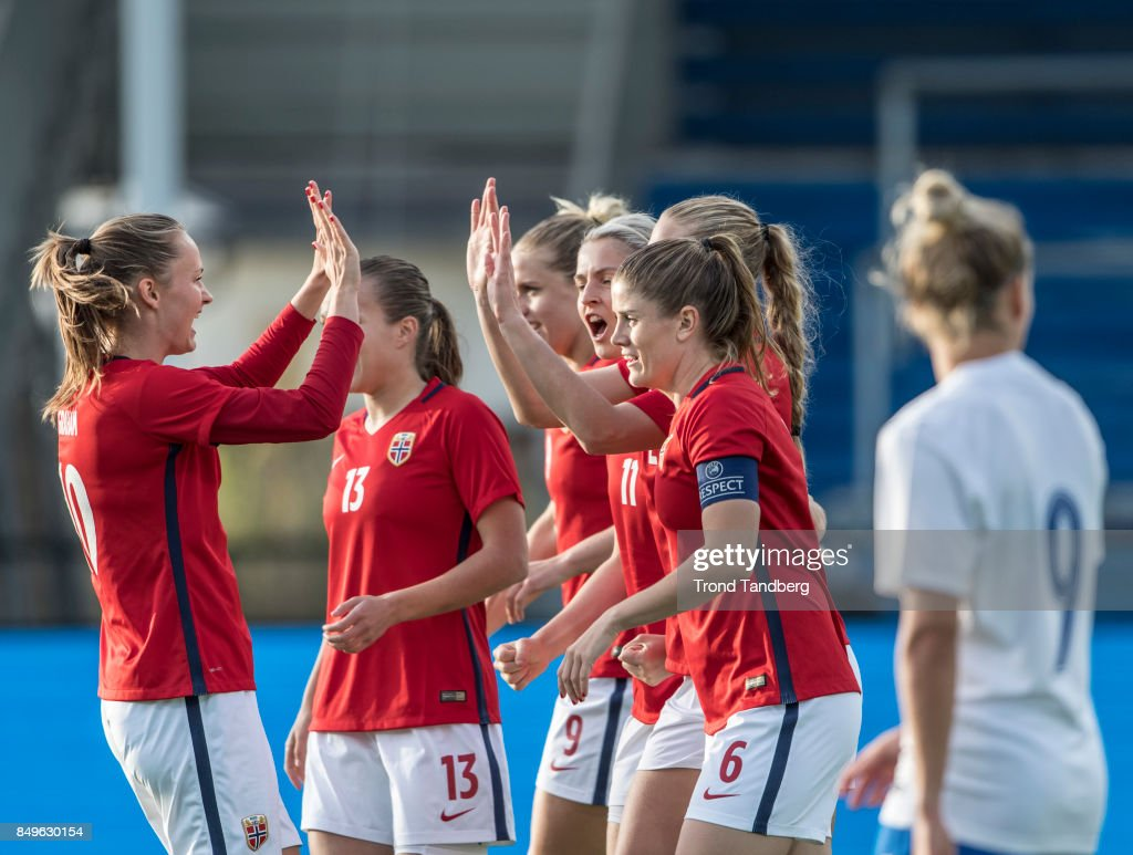 Norway v Slovakia - FIFA Women's World Cup Qualifier : News Photo