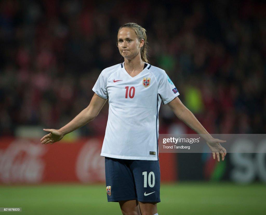 Norway v Denmark - UEFA Women's Euro 2017: Group A : News Photo