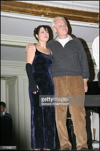 Caroline Grimm Yann Arthus Bertrand at Gala Evening At Salle Gaveau In Association With Le Rire Pour La Planete By Marc Jolivet