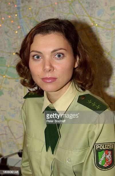 Caroline Grothgar Portrait Porträt geb 16 August 1968 Sternzeichen Löwe RTLKrimiSerie Die Wache Köln 200Folge Jubiläum Feier Schauspielerin Polizei...