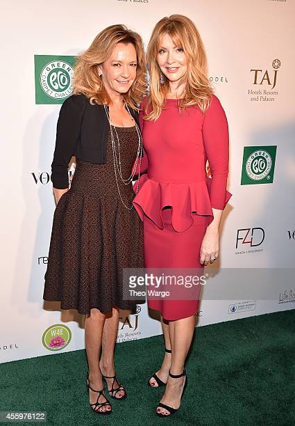 Caroline GruosiScheufele and Evie Evangelou attend Fashion 4 Development 4th Annual Official First Ladies Luncheon at The Pierre Hotel on September...