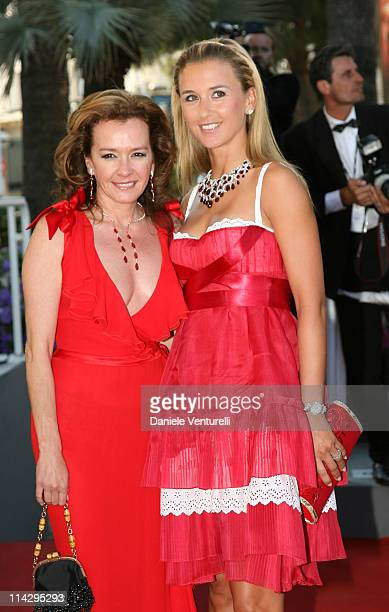 Caroline GruosiScheufele and guests during 2006 Cannes Film Festival 'Marie Antoinette' Premiere at Palais des Festival in Cannes France
