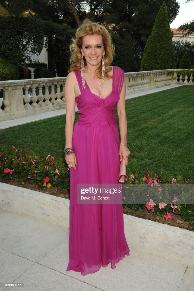 Caroline Gruosi-Scheufele arrives at amfAR's Cinema Against AIDS 2010 benefit gala at the Hotel du Cap on May 20, 2010 in Antibes, France.
